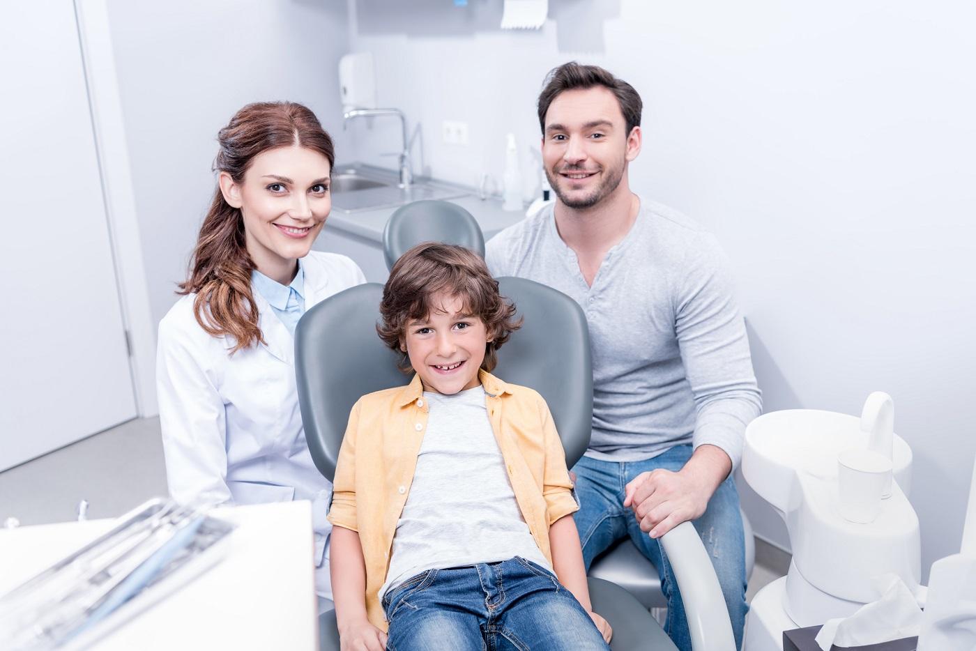 dziecko u dentysty łódź